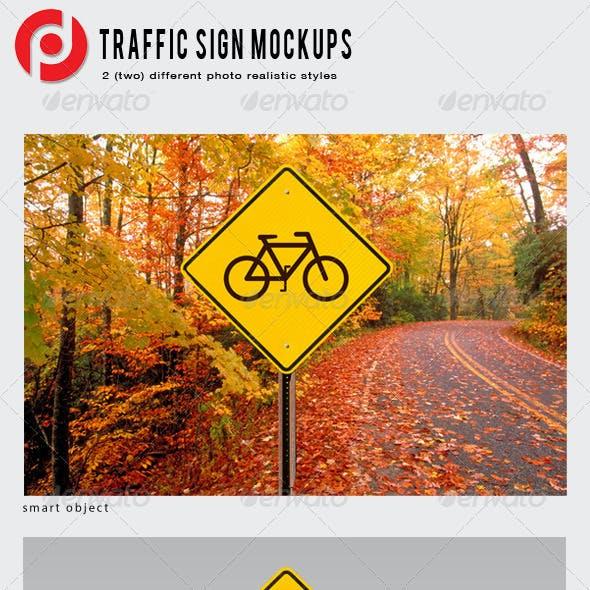 Traffic Sign Mockup