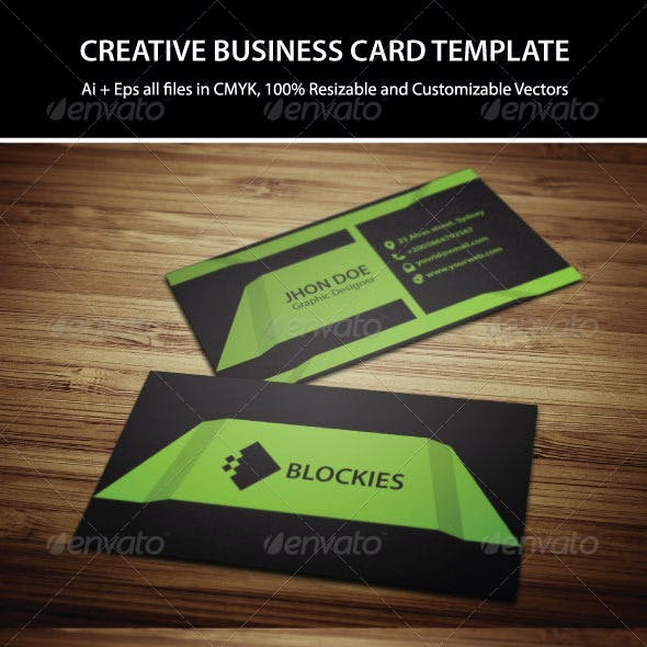 3 Colors Exclusive Business Card