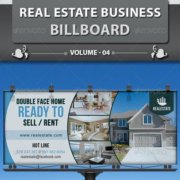 Real Estate Business Billboard | Volume 3