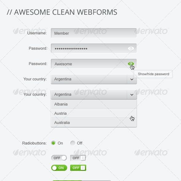 WebForm Elements