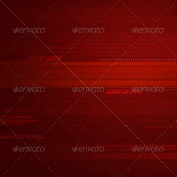 Tech Red Background