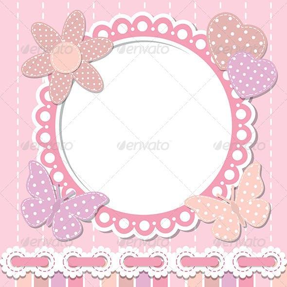 Romantic Pink Frame