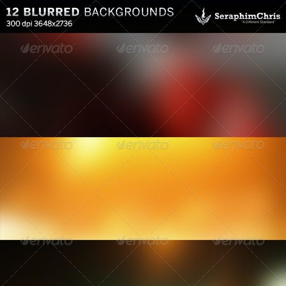 12 Abstract Blurred HD Backgrounds