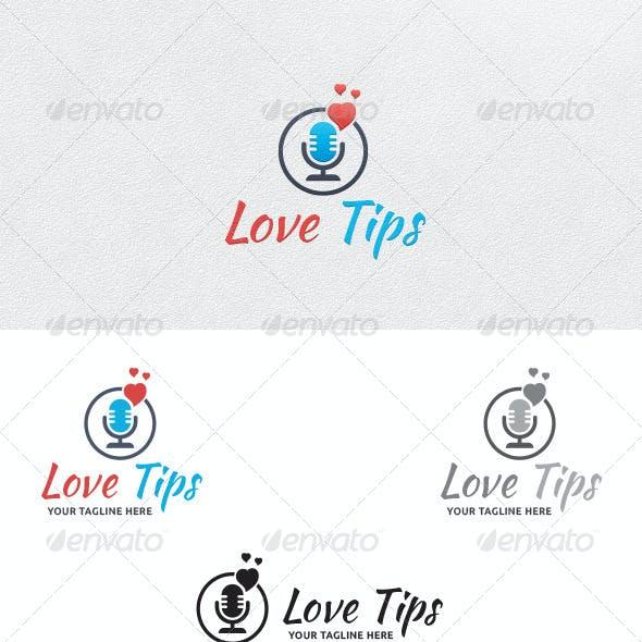 Love Talk - Logo Template