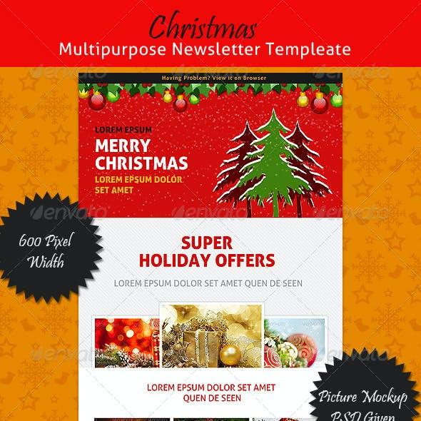 Christmas Multipurpose Newsletter Template