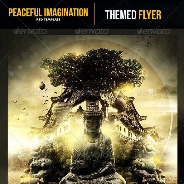 Peaceful Imagination Flyer Template