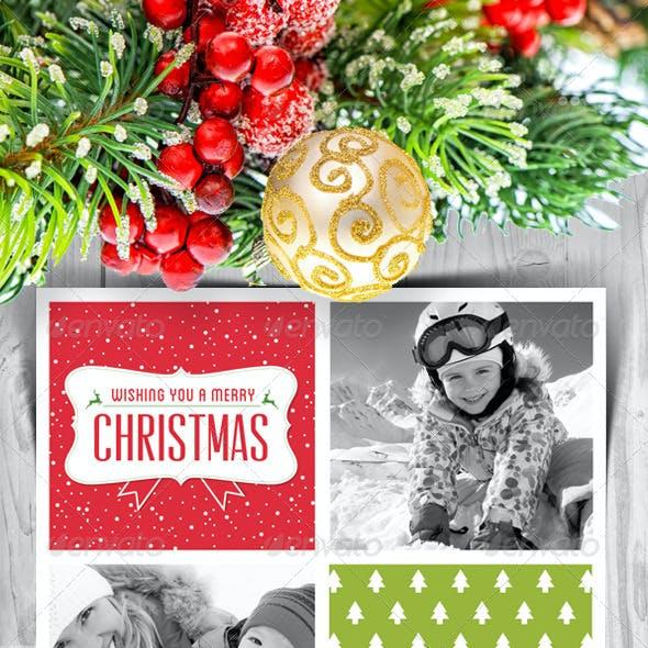 Modern Christmas Card V5