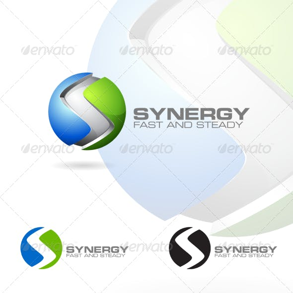 3D S Letter - Corporate Logo Design