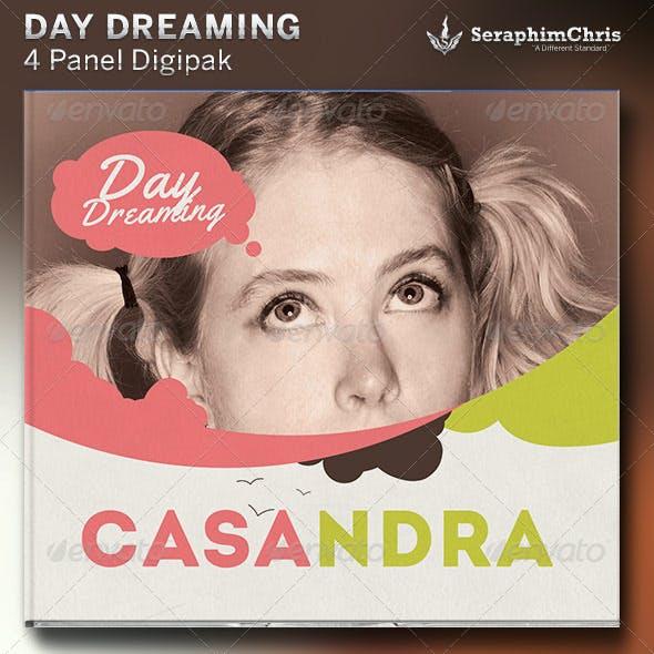 Daydream: Digipak CD Cover Artwork Template
