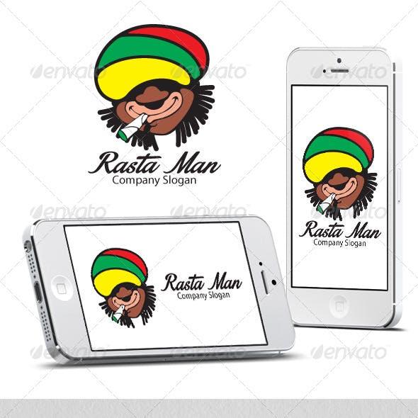 Rasta Man Logo