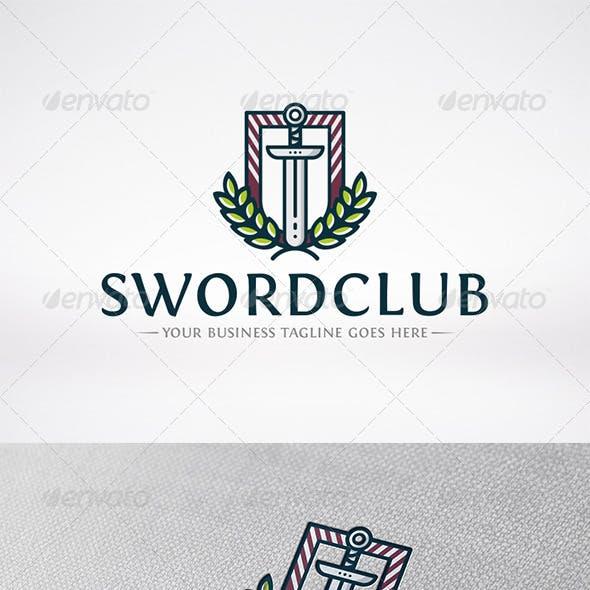 Sword Club Logo Template
