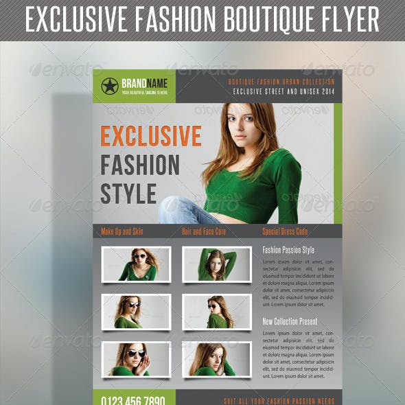 Fashion Product Flyer 25