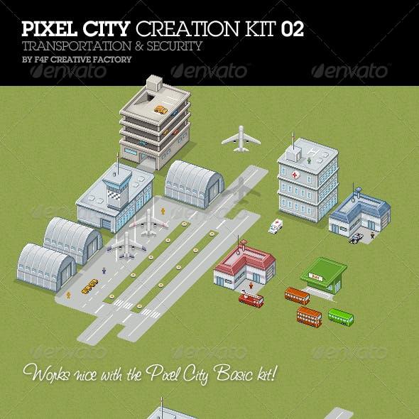 Pixel City Creation Kit 02