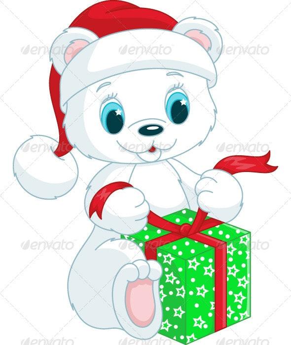 Christmas Teddy Bear - Animals Characters