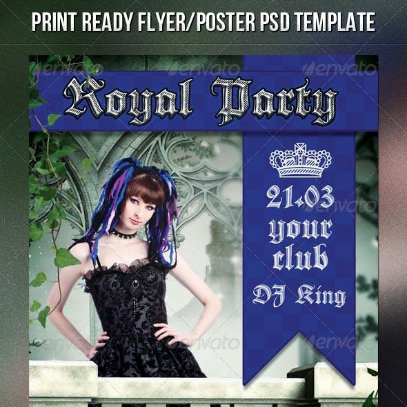 Royal Party Flyer