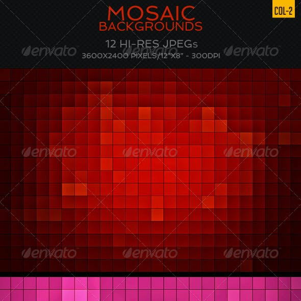 Mosaic Backgrounds Col2