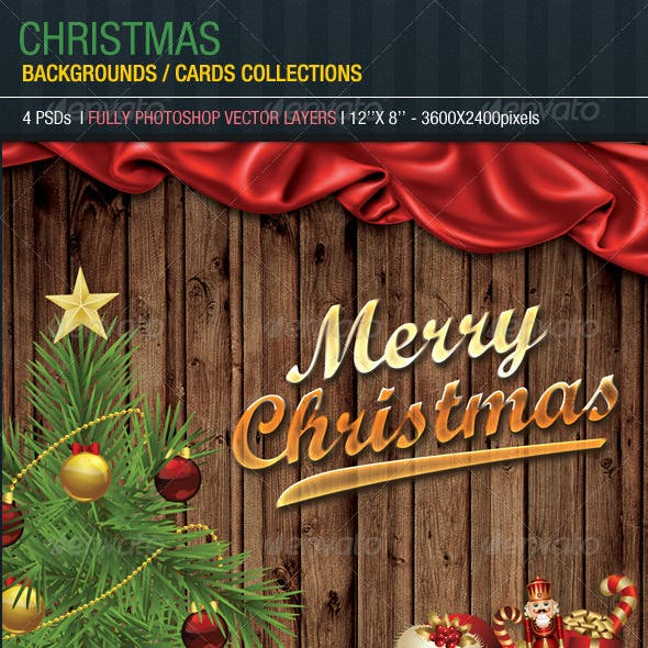 Christmas Backgrounds/Cards