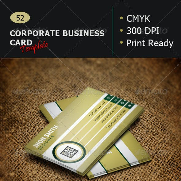 Creative Business Card Template 52