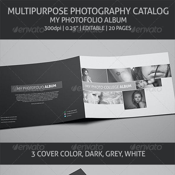 Photography Album - Multipurpose Catalog