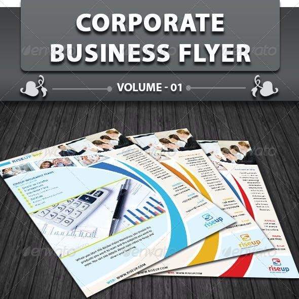 Corporate Business Flyer | Volume 1