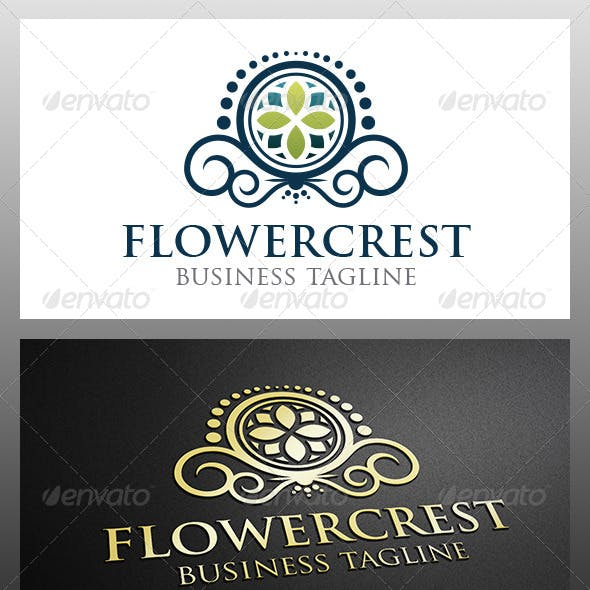 Flower Crest Logo