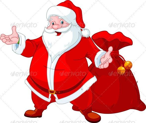Happy Santa - Christmas Seasons/Holidays