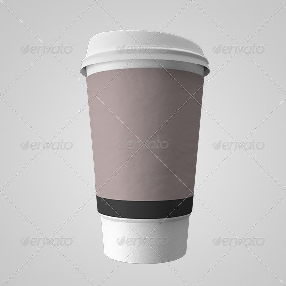 Paper Coffee Cup - Objects 3D Renders