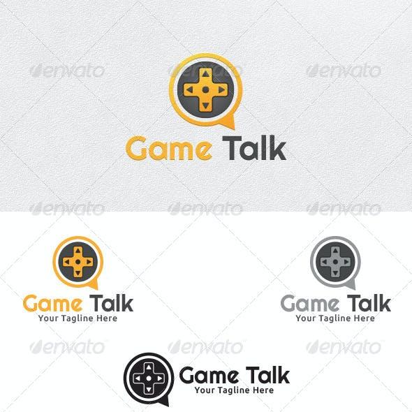 Game Talk - Logo Template