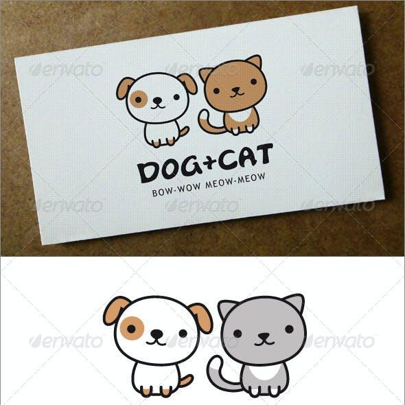 Dog + Cat Logo