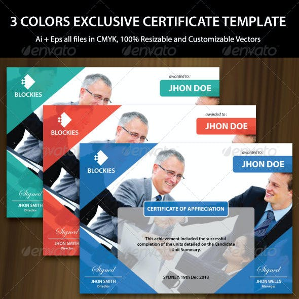 Multipurpose Certificate Template
