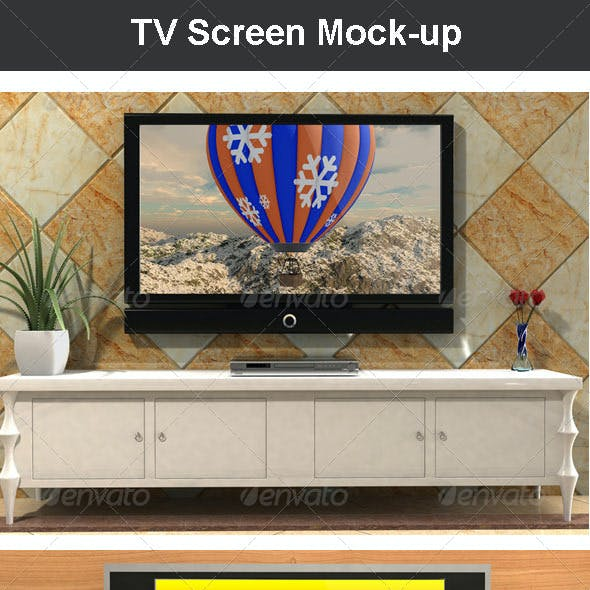 TV Screen Mock-up