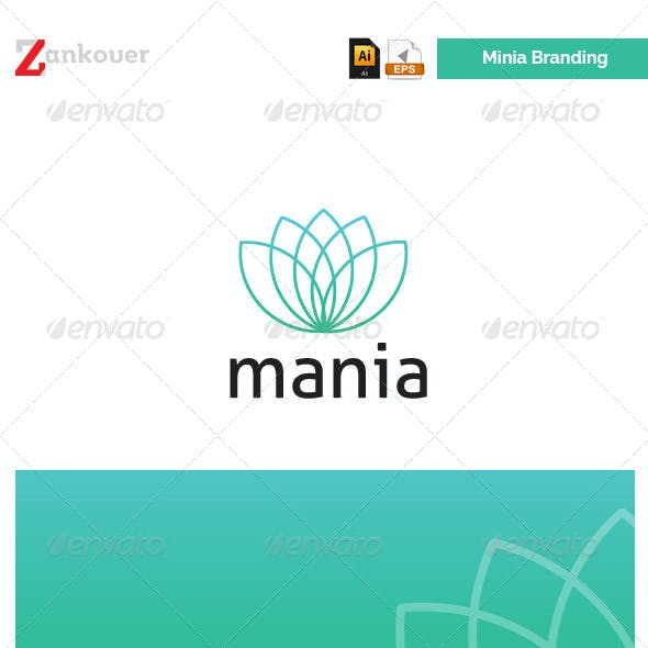 Stationary & Brand Identity - Mania