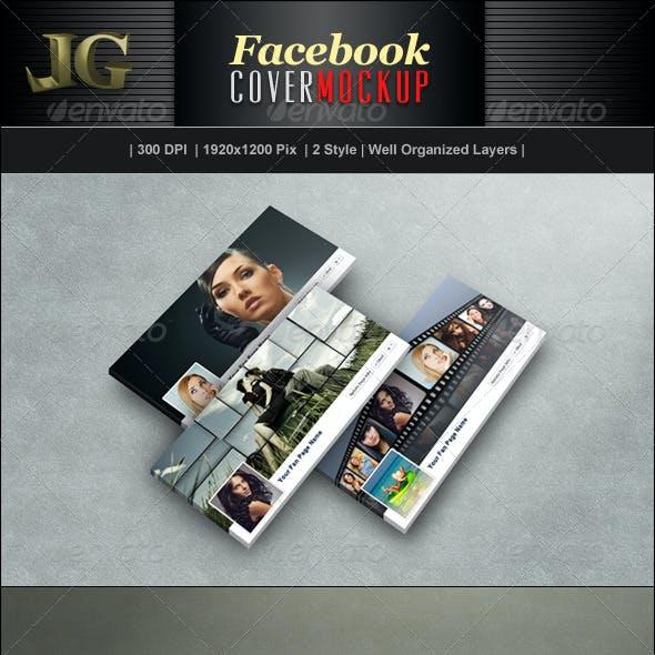 Facebook Timeline Cover Mockup