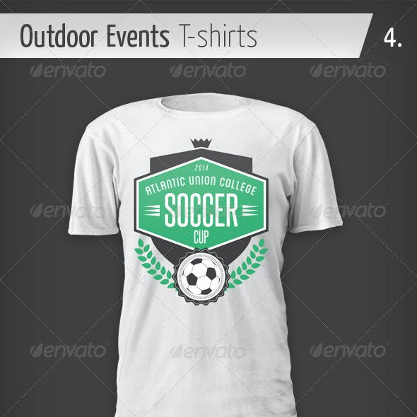 Outdoor Events T-shirts - Soccer Cup