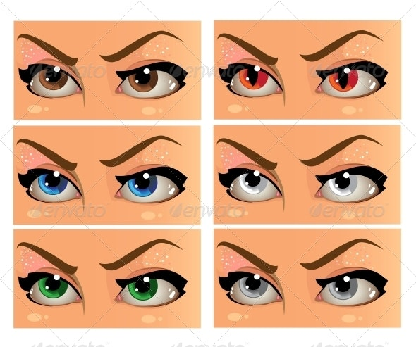 Women Eyes - Miscellaneous Characters