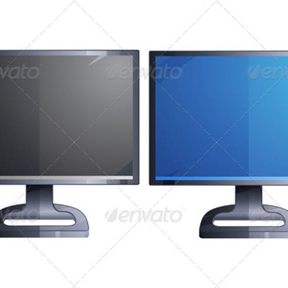 Monitor Illustration