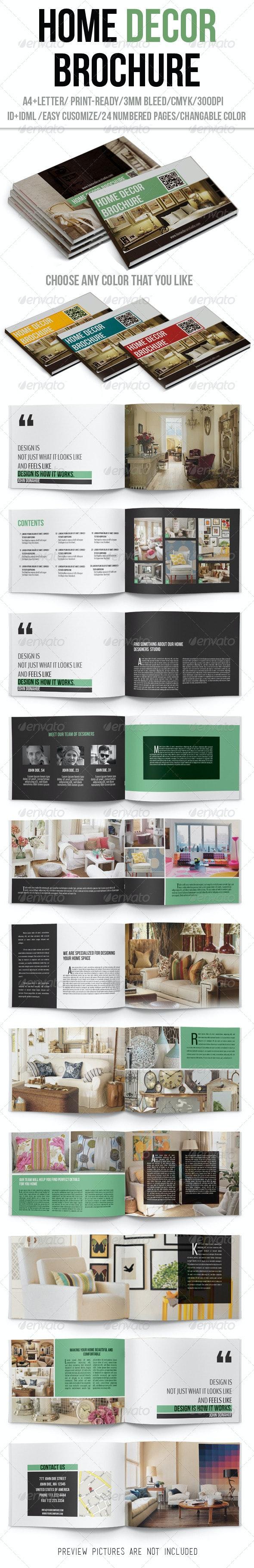 Home Decor Brochure - Catalogs Brochures