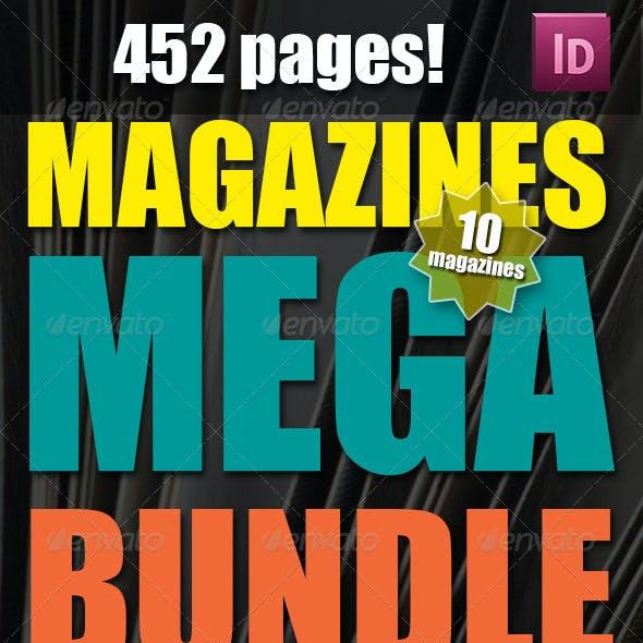 10 Magazines Mega Bundle