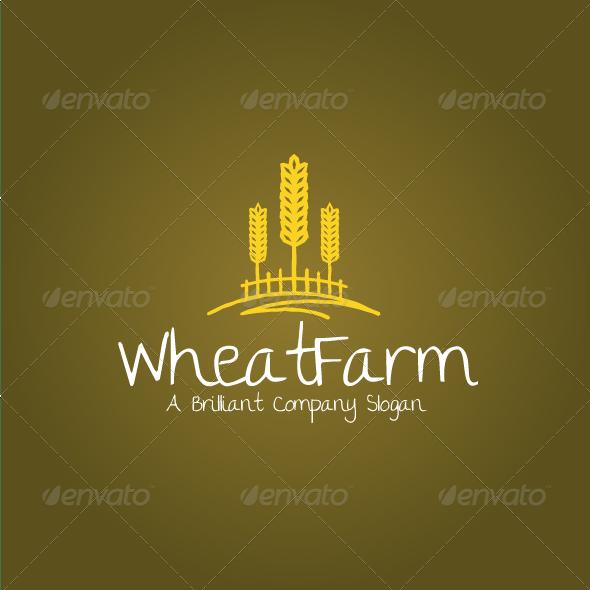 Wheat Farm Logo - Nature Logo Templates