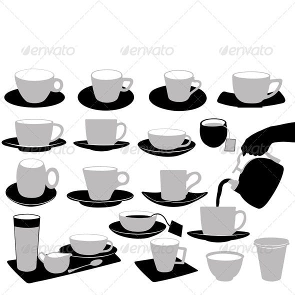 Illustration of Cups