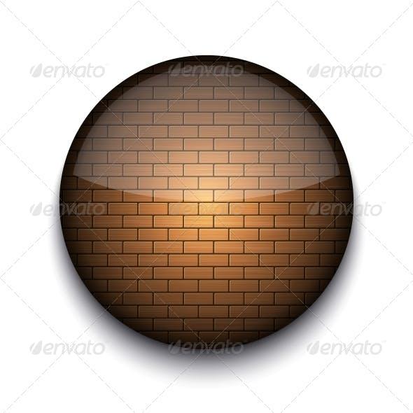 Circle App Brick Icon
