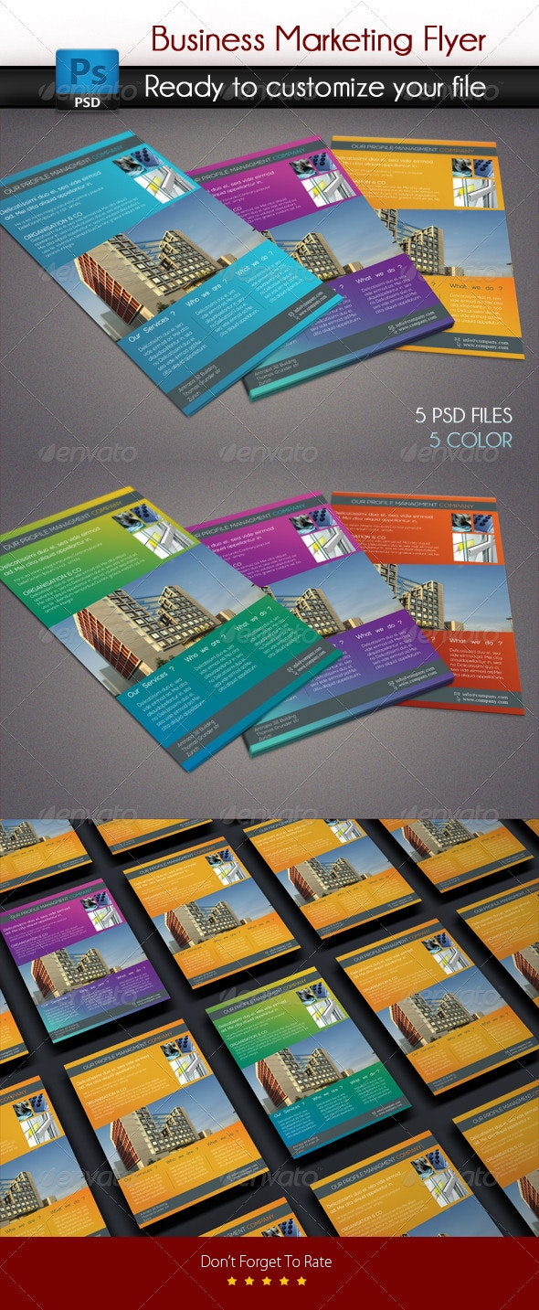 Business Marketing Flyer - Corporate Flyers