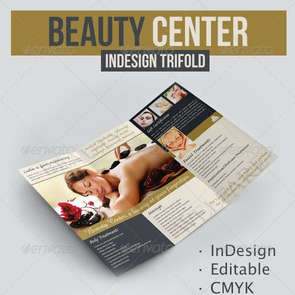 Beauty Center Trifold