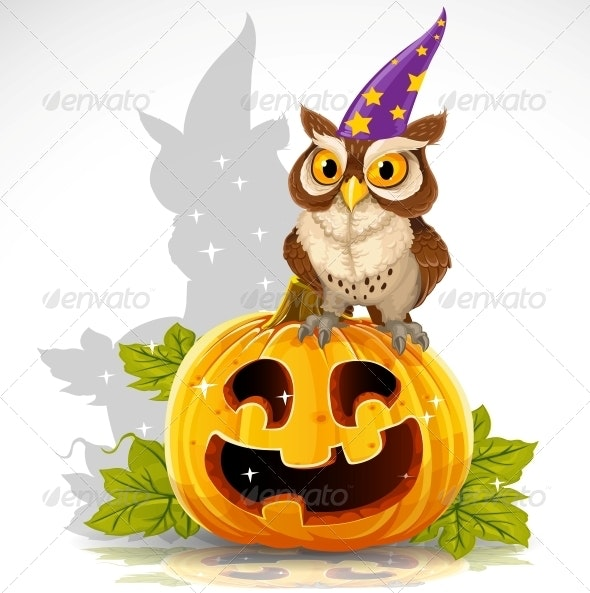 Halloween Owl - Halloween Seasons/Holidays