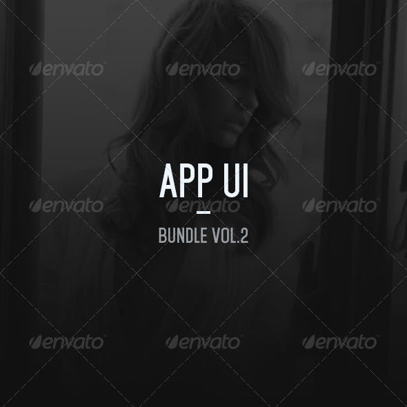 App UI - Bundle Vol.2