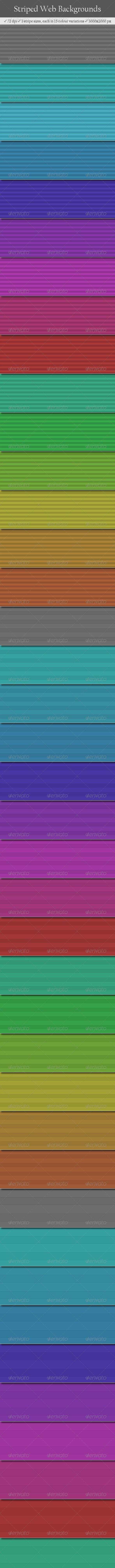 Striped Web Backgrounds - Miscellaneous Backgrounds