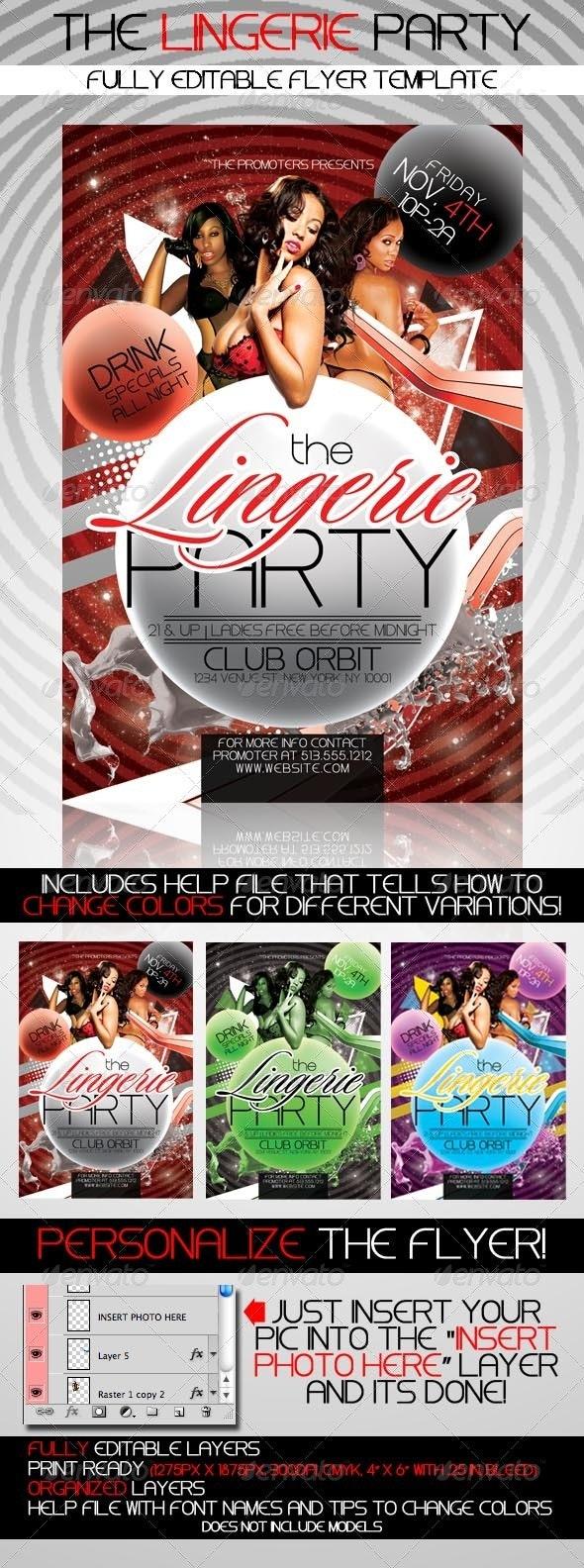 Lingerie Party - Clubs & Parties Events