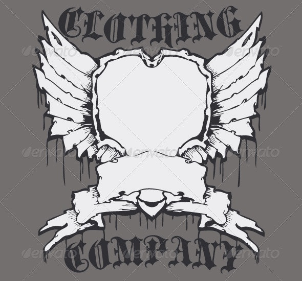 Wing Shield - Designs T-Shirts