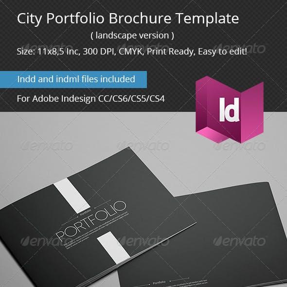 City Portfolio Brochure Template