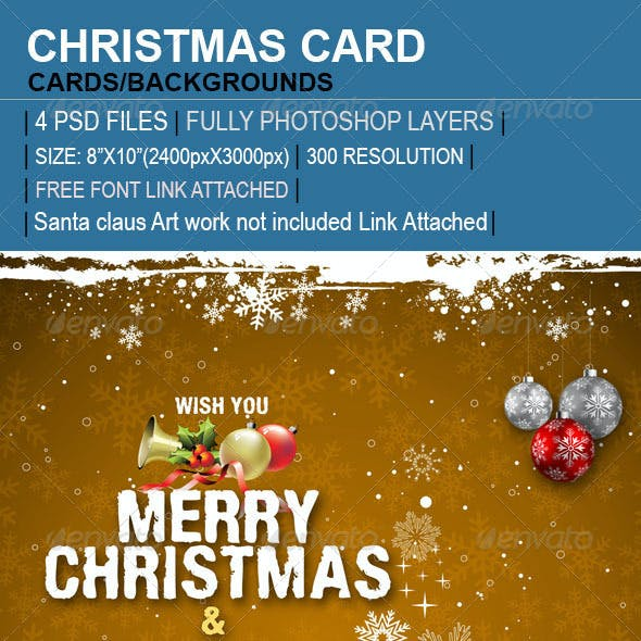 Christmas New Year Cards